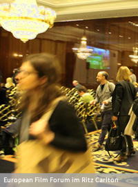 European Film Forum im Hotel Ritz Carlton, Berlin