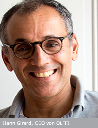 Ilann Girard, Partner und CEO von OLFFI