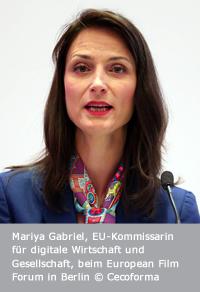 Mariya Gabriel, Foto: Cecoforma