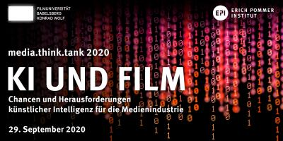 "media.think.tank ""KI und Film"""