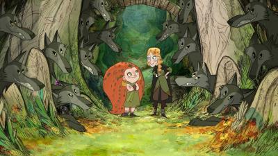 """Der aus dem MEDIA Slate Funding enstandene irische Animationsfilm """"Wolfwalkers"""" ist für den besten Animationsfilm nominiert © Cartoon Saloon"""
