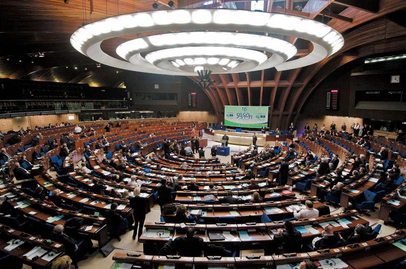 Plenarsaal des Europarates